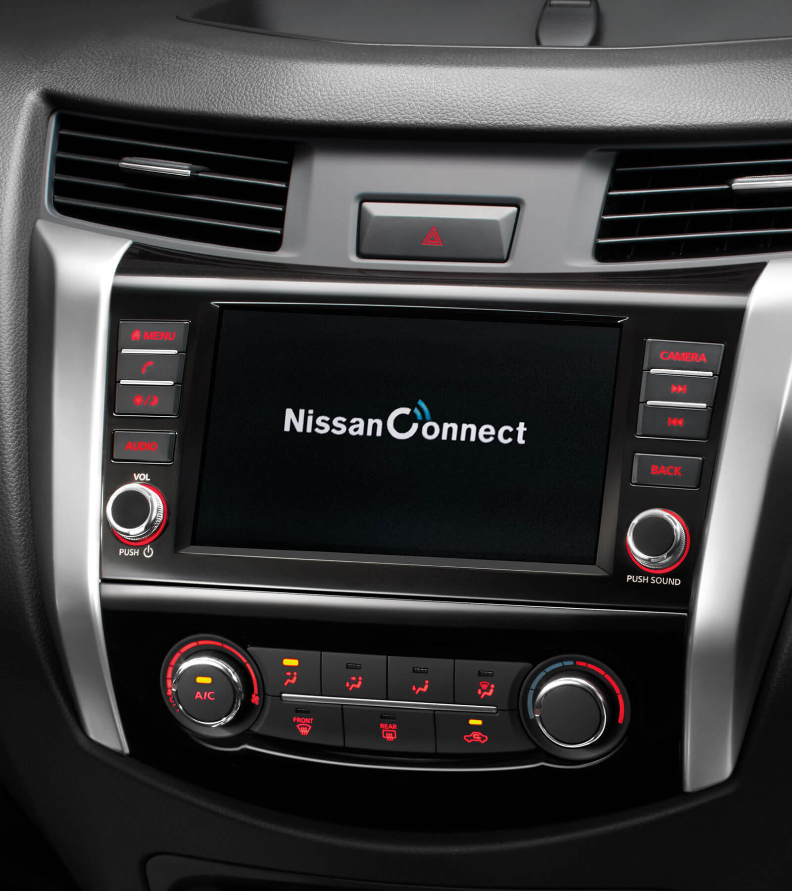New 8 inch Radio Display with NISSAN CONNECT