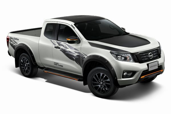 New Nissan Navara King Cab Black Edition