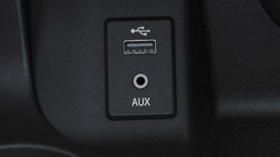 RADIO WITH USB/AUX