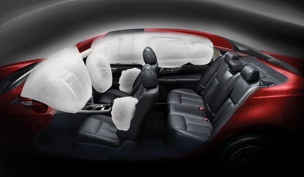 DUAL SRS AIRBAGS, SIDE AIRBAGS & CURTAIN AIRBAGS