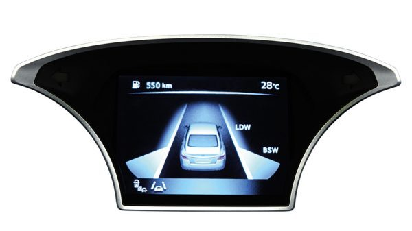 LANE DEPARTURE WARNING & BLIND SPOT WARNING
