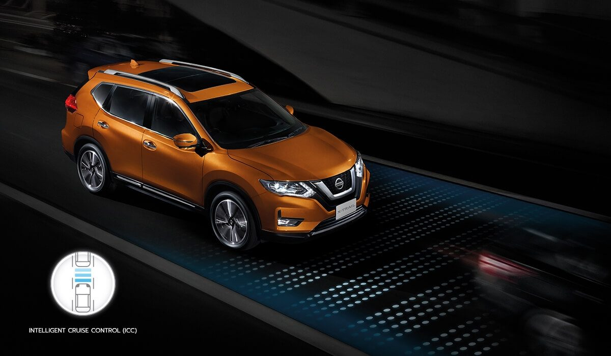 New Nissan X-Trail Intelligent Cruise Control